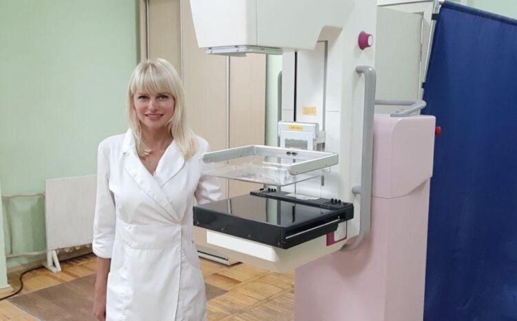 Мамографія молочних залоз